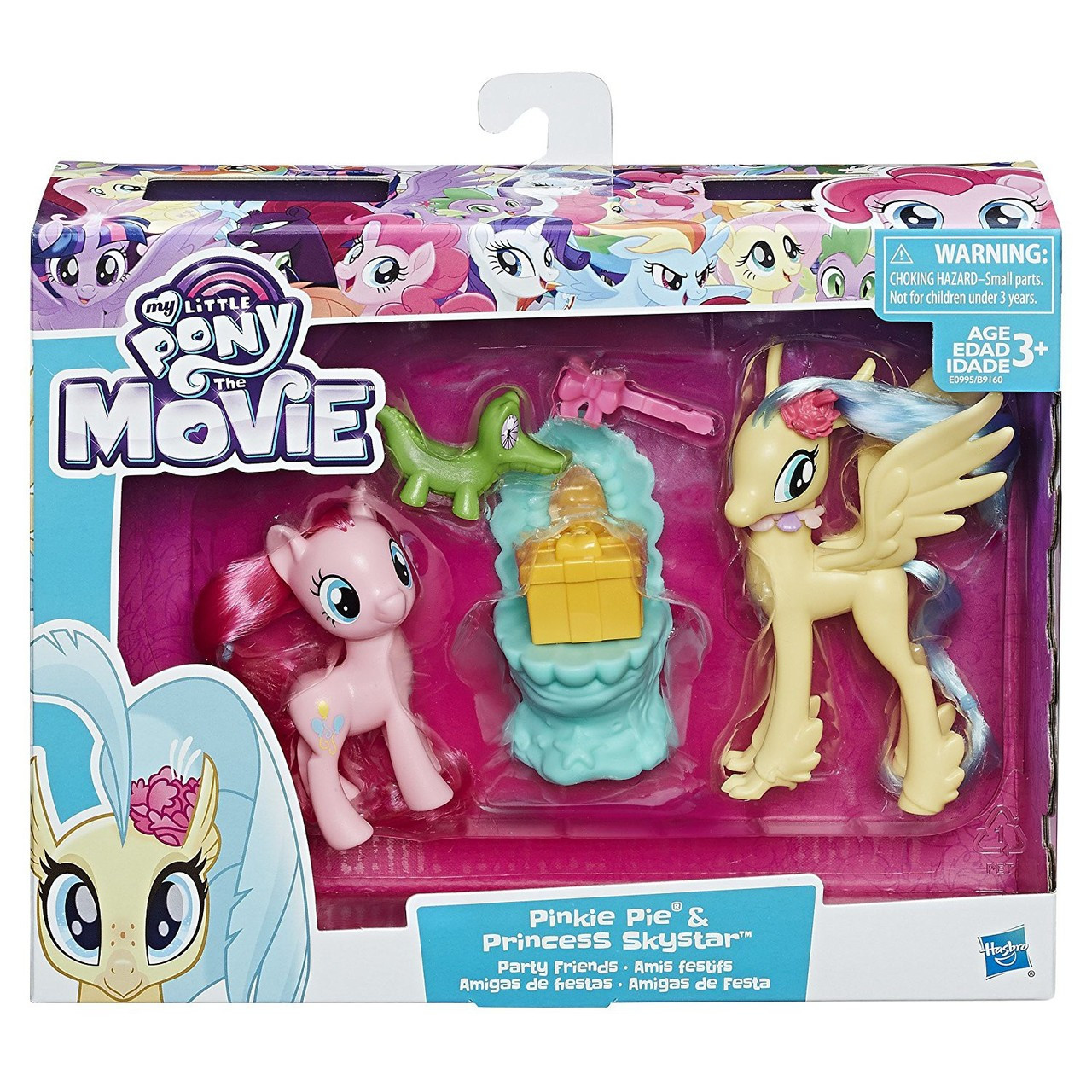 my little pony the movie pinkie pie princess skystar party friends
