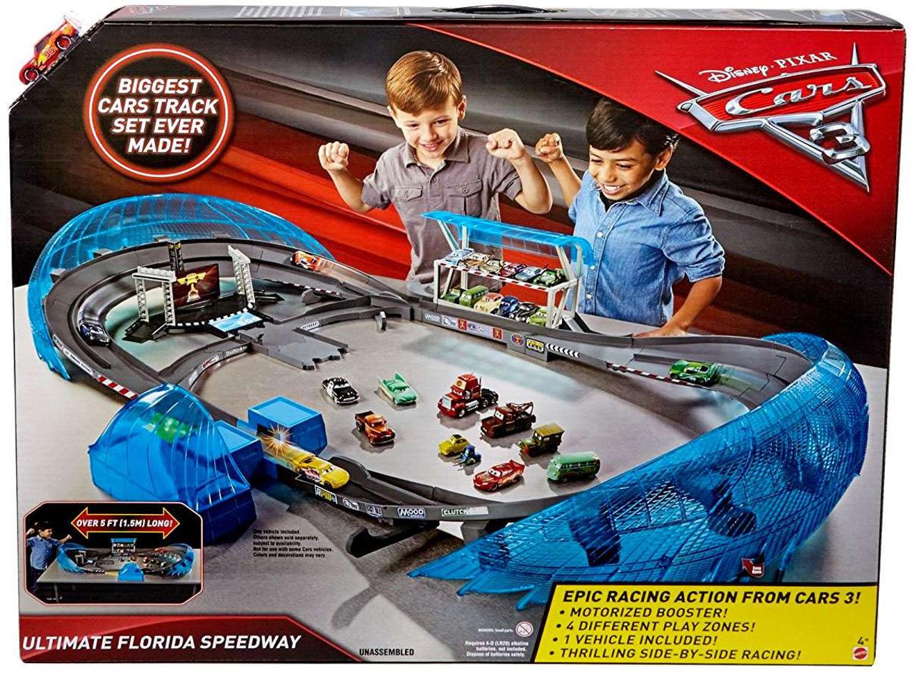 Cars  Florida  Speedway Playset