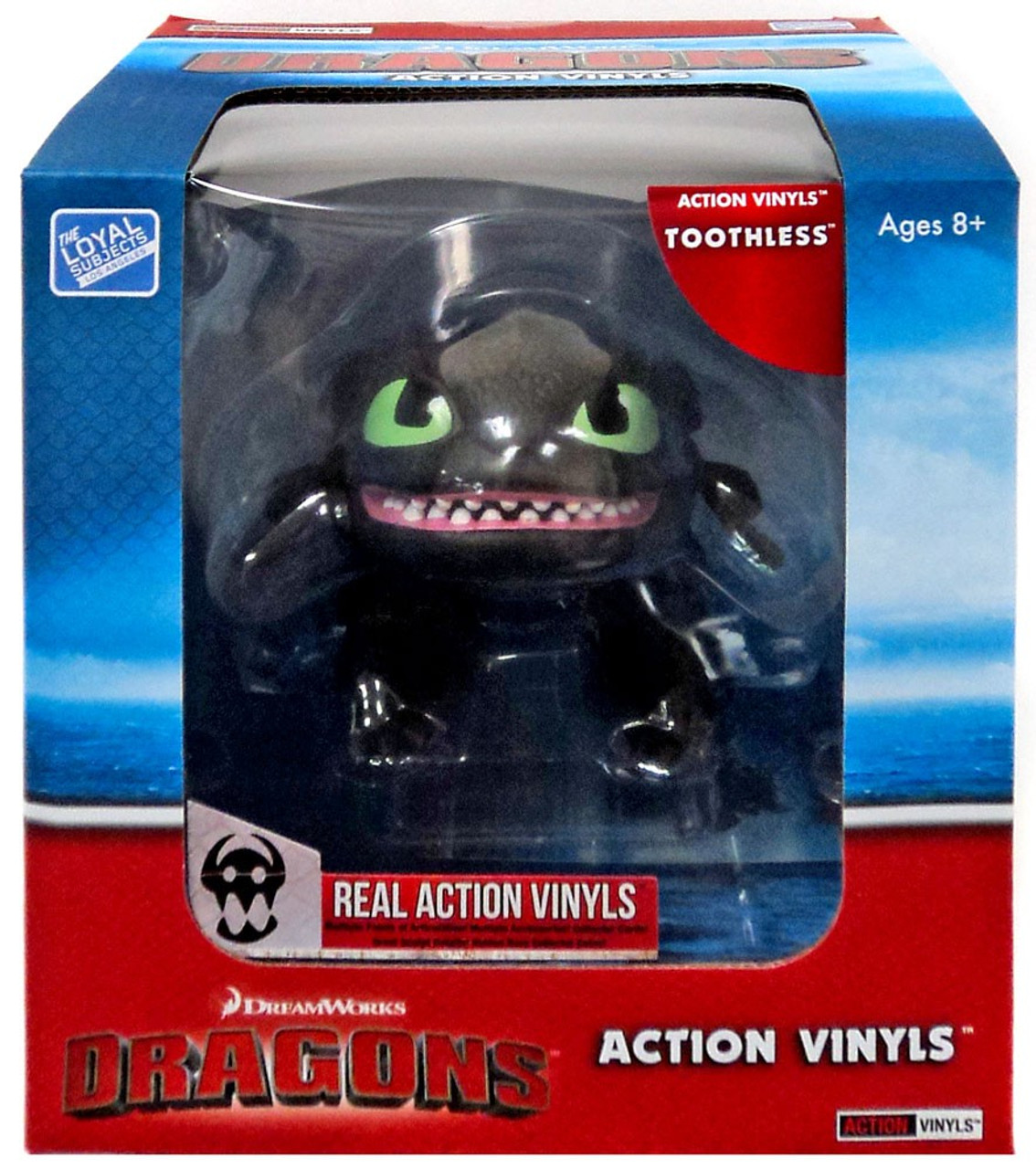 How To Train Your Dragon Action Vinyls Toothless Vinyl