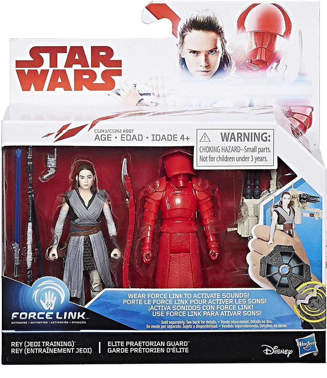 Star Wars The Last Jedi Force Link Rey Jedi Training Elite