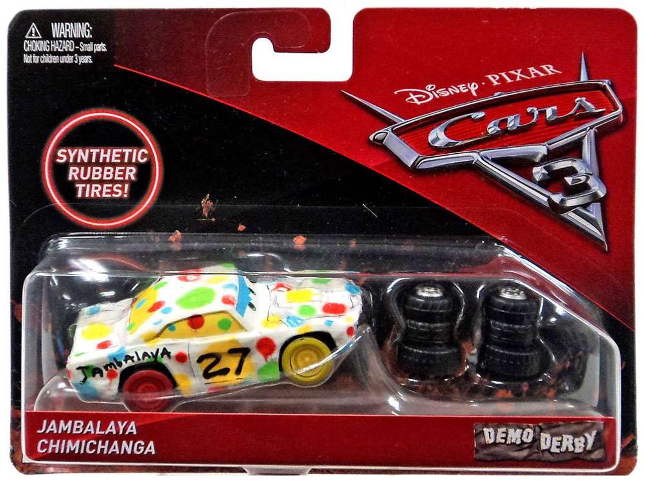 Disney Cars Diecast: Disney Cars Cars 3 Demo Derby Jamalaya Chimichanga 155