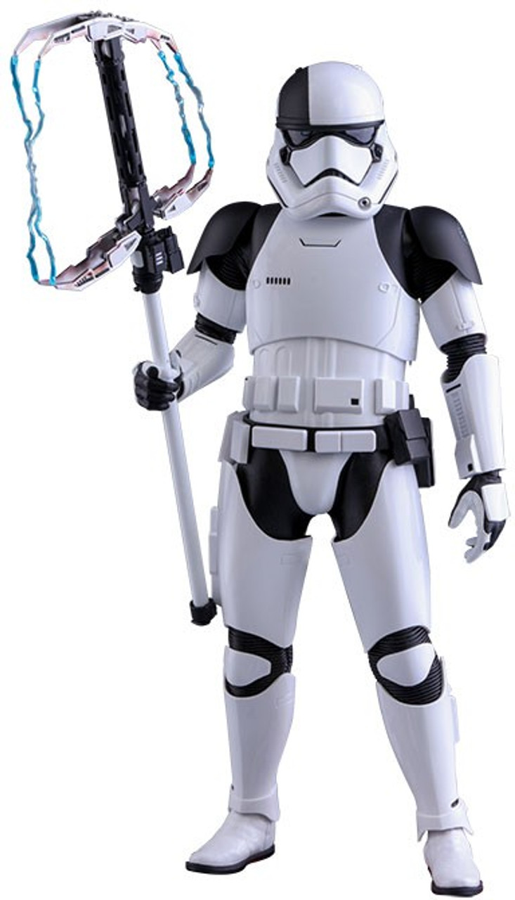 Star Wars The Last Jedi Movie Masterpiece First Order Stormtrooper Executioner Collectible Figure MMS428