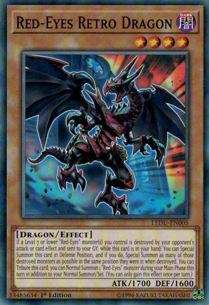 YuGiOh Legendary Duelists Single Card Common Red-Eyes ...