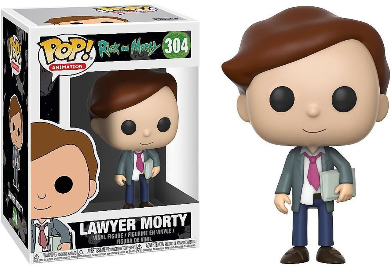 Funko Rick Morty Pop Animation Lawyer Morty Vinyl Figure