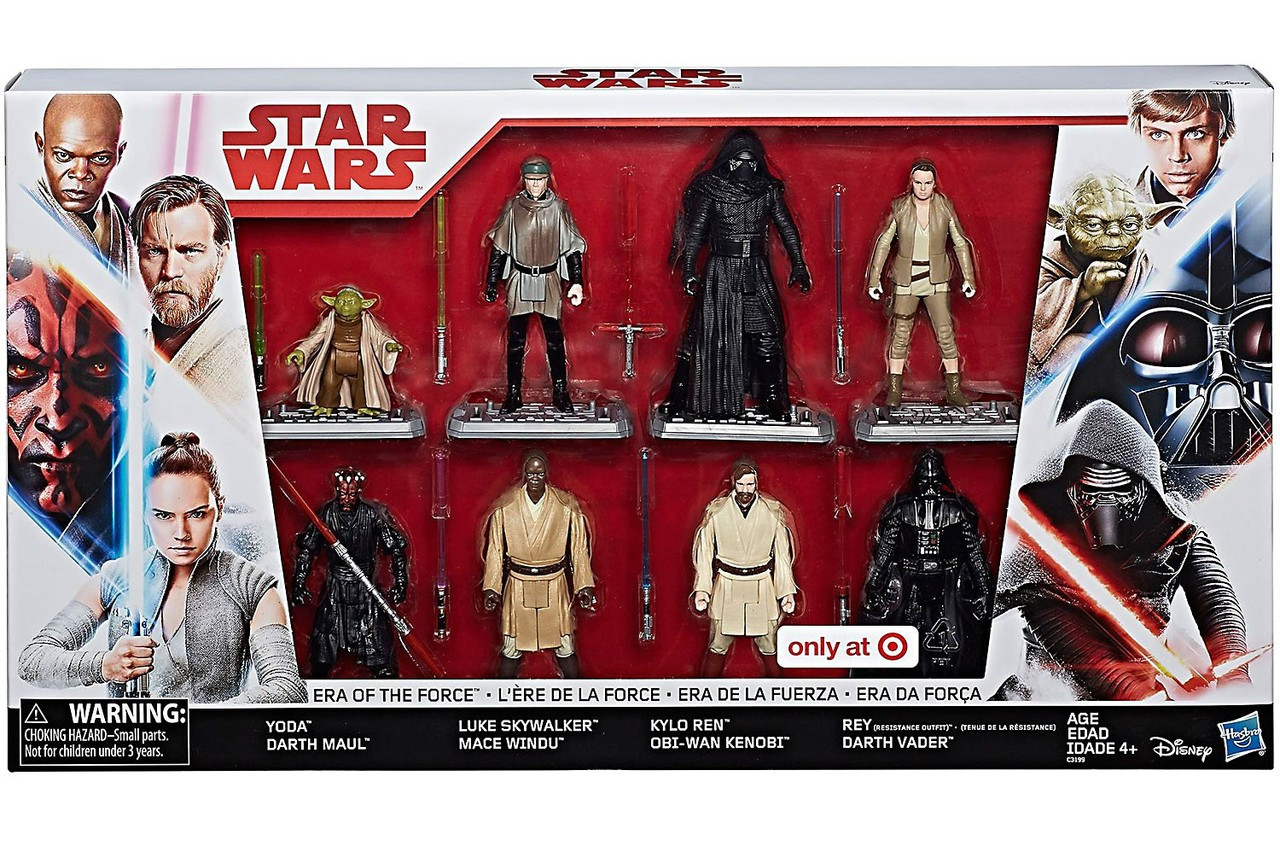 star wars era of the force exclusive action figure 8 pack hasbro toys toywiz. Black Bedroom Furniture Sets. Home Design Ideas