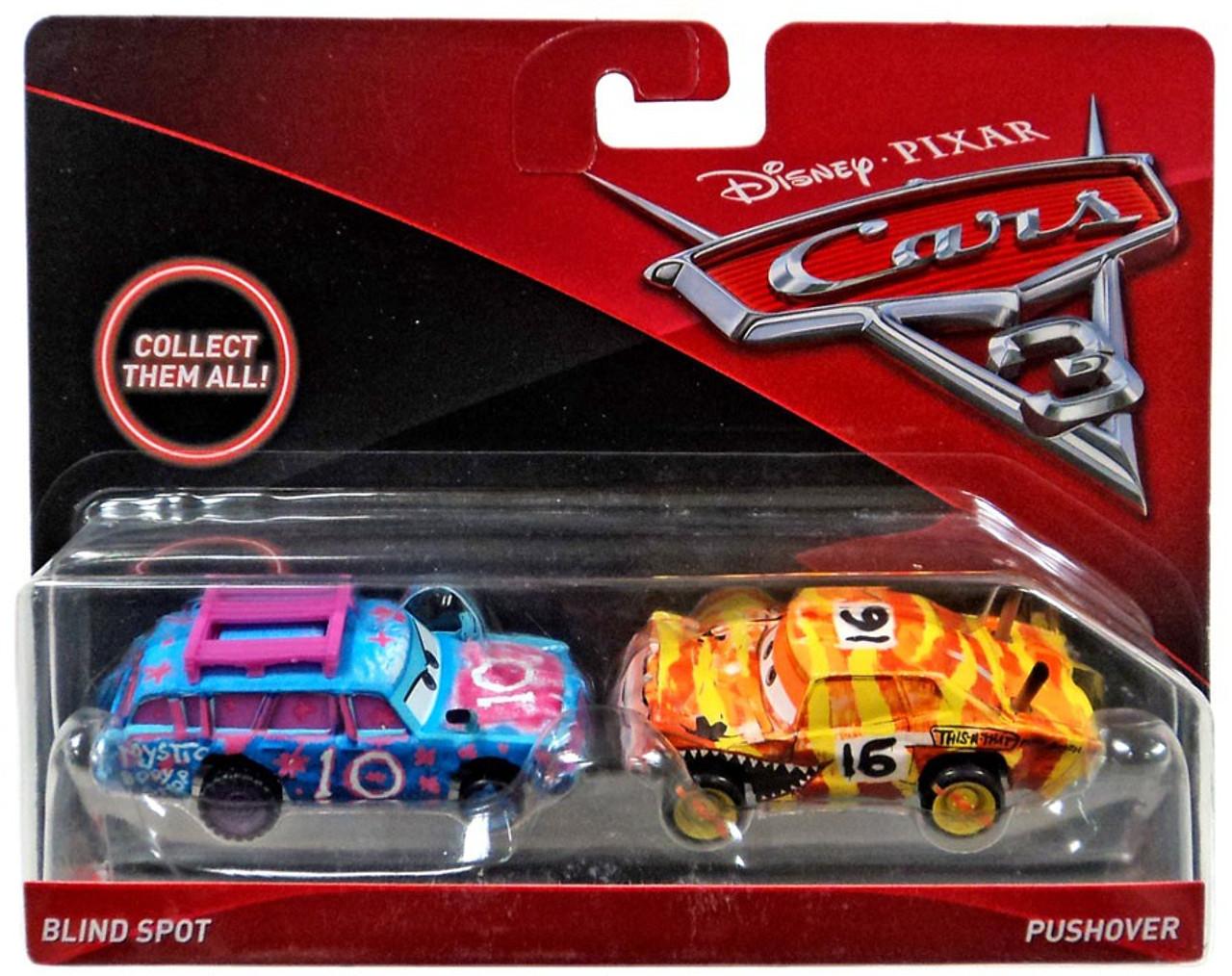 Disney Pixar Cars Cars 3 Blind Spot Pushover 155 Diecast 2 Pack