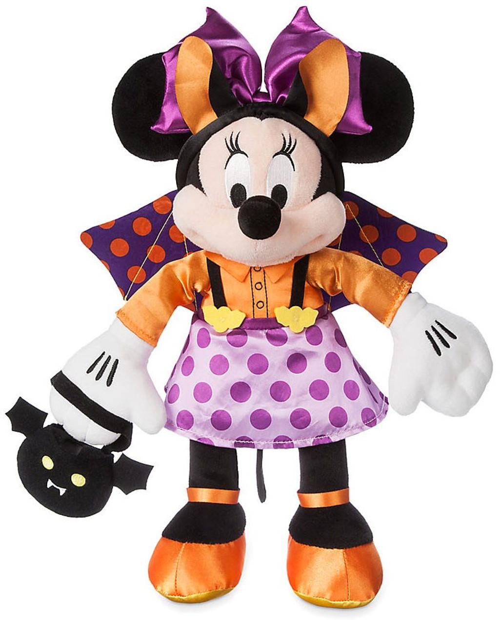 Disney Mickey Mouse Halloween Minnie Mouse 15 Plush Bat - ToyWiz