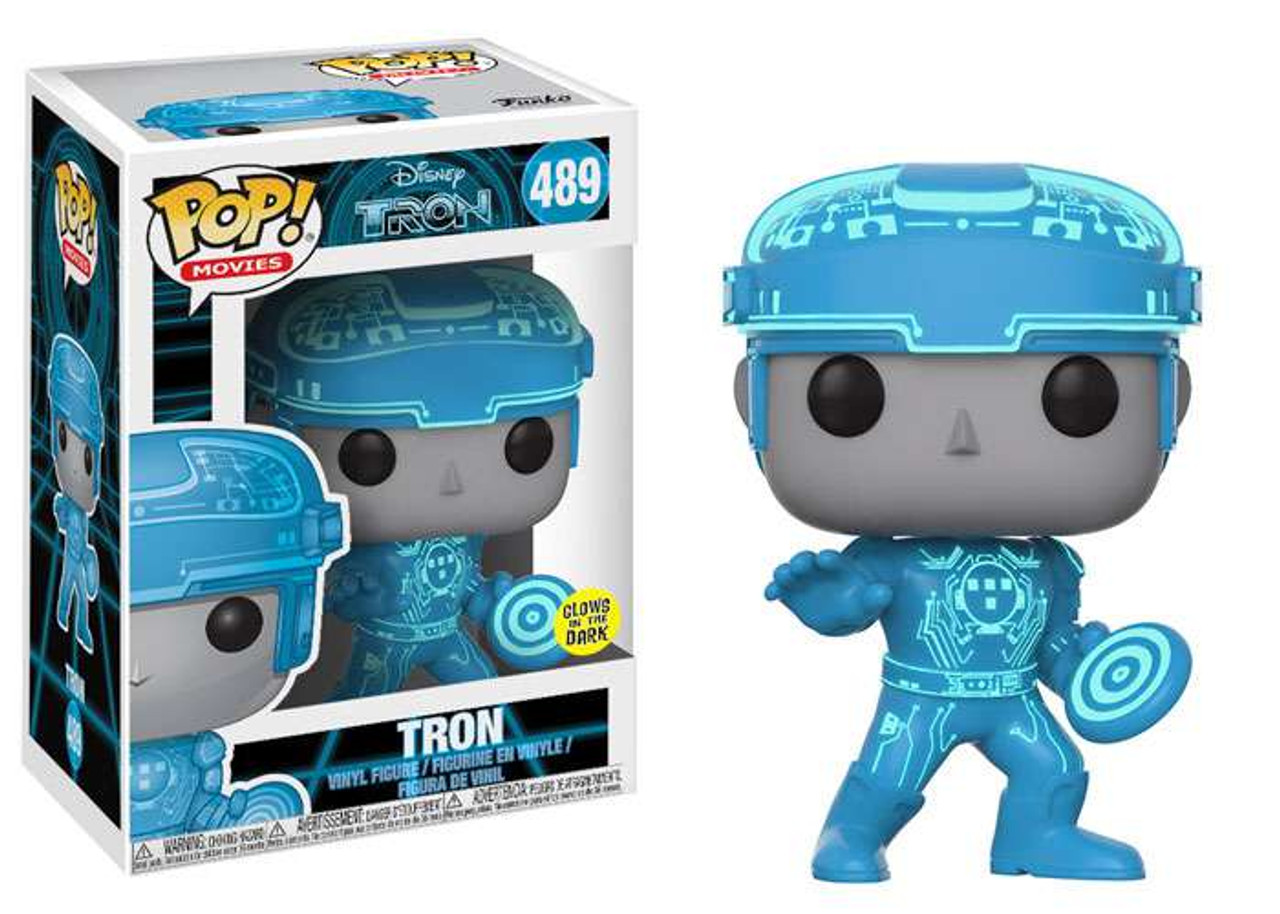 Funko POP! Movies Tron Vinyl Figure #489 [Glow in the Dark, Regular Version]