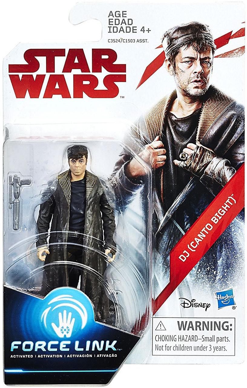 The Last Jedi Star Wars Toys : Star wars the last jedi force link orange series wave dj
