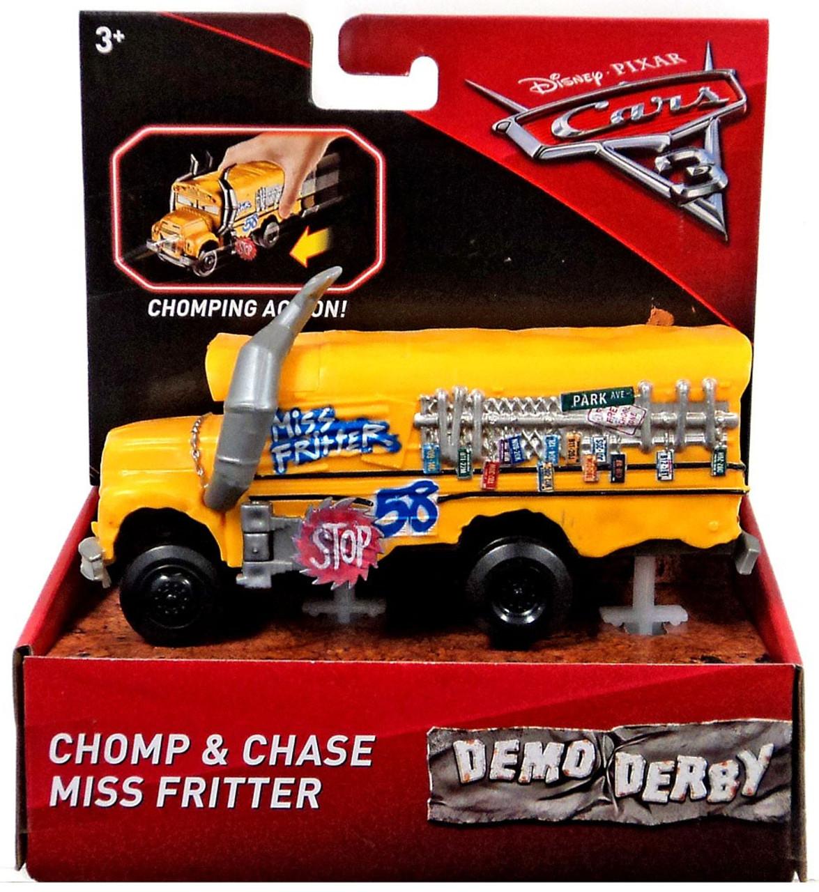 Disney Cars Cars 3 Demo Derby Chomp Chase Miss Fritter