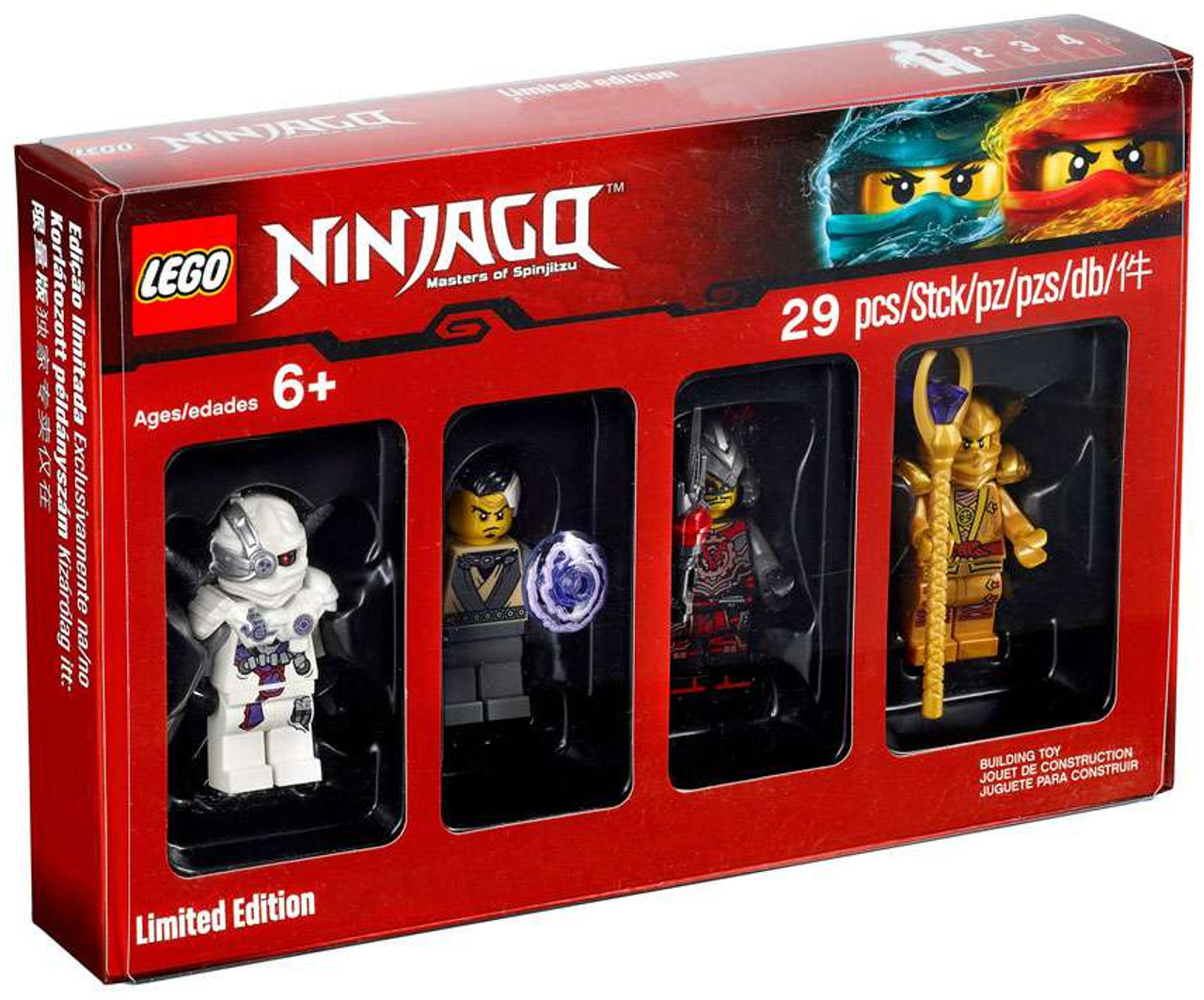 LEGO Ninjago Bricktober Ninjago Exclusive Minifigure Collection 4 ...