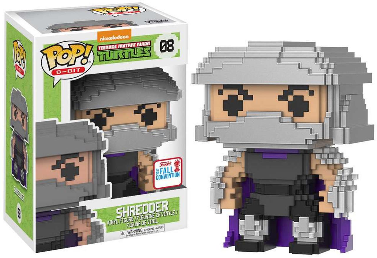 Teenage Mutant Ninja Turtles Shredder Toy : Funko teenage mutant ninja turtles funko pop 8 bit shredder