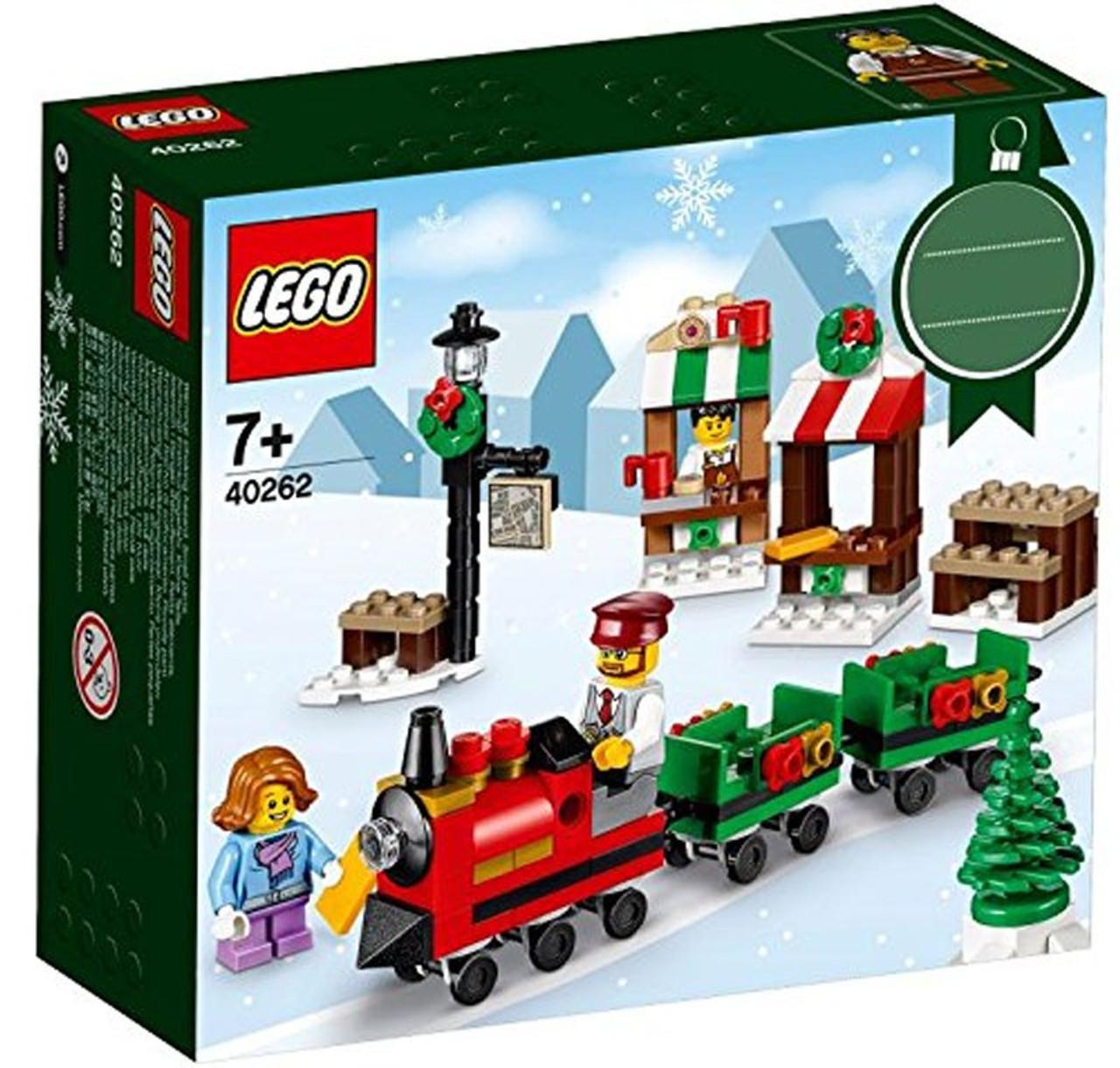LEGO Christmas Mini Train Ride Set 40262 - ToyWiz