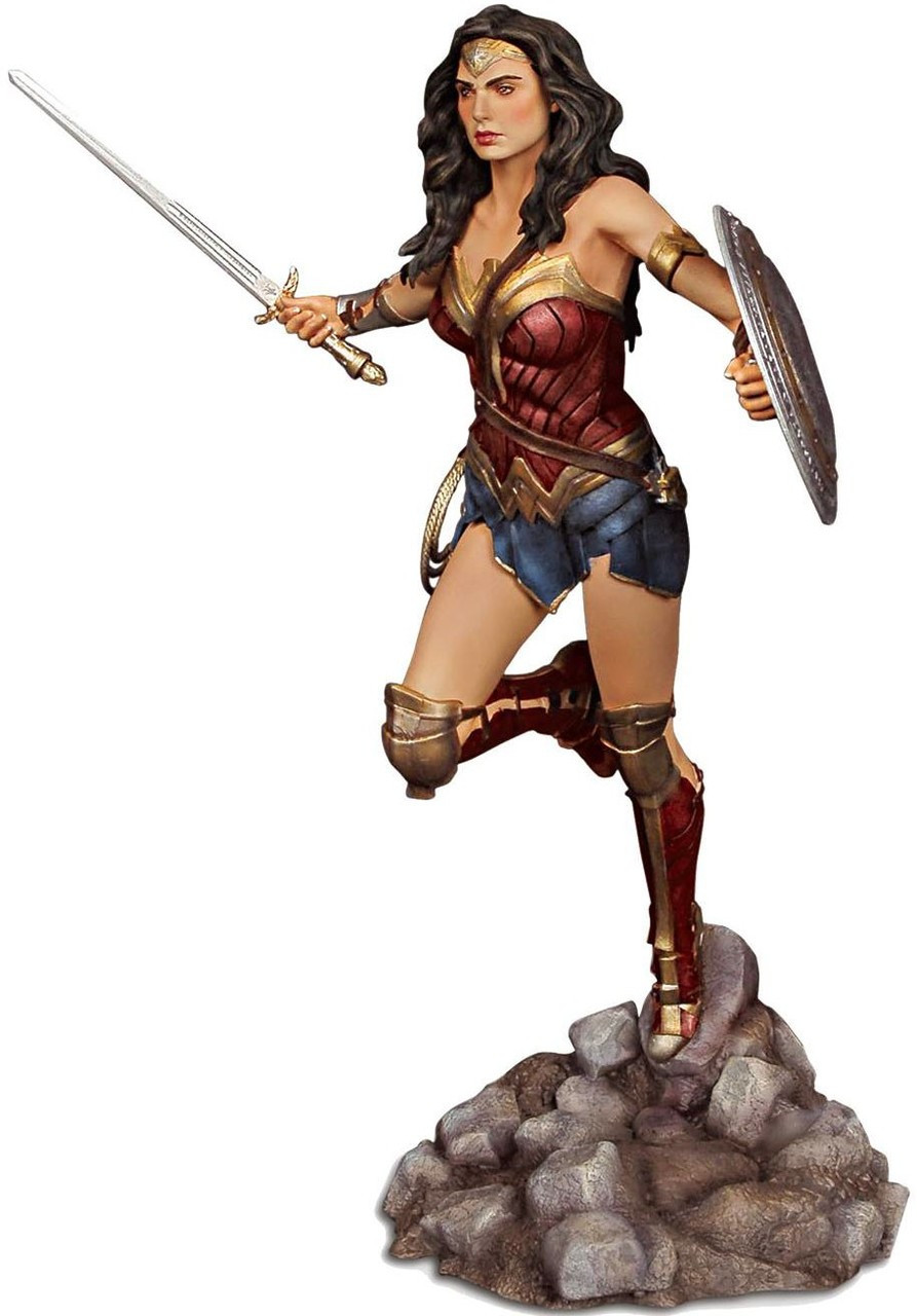 DC Batman V Superman Dawn Of Justice Wonder Woman Resin Model Kit