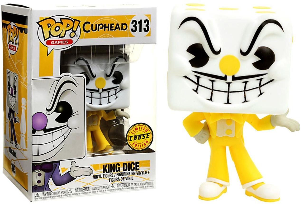 Funko Cuphead Funko Pop Games King Dice Vinyl Figure 313