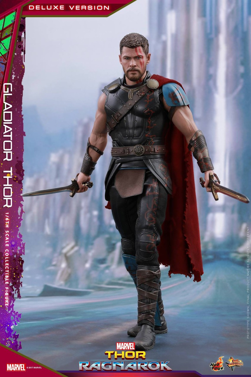 Marvel Thor: Ragnarok Movie Masterpiece Gladiator Thor 1/6 Collectible Figure MMS445 [Deluxe Version] (Pre-Order ships October)