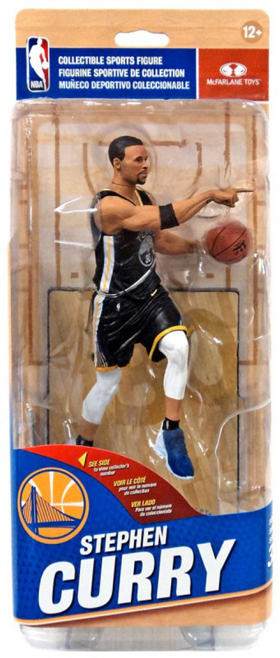 b5d1c13107c8 McFarlane Toys NBA Golden State Warriors Sports Picks Series 32 Stephen  Curry 7 Action Figure Black Statement Edition - ToyWiz