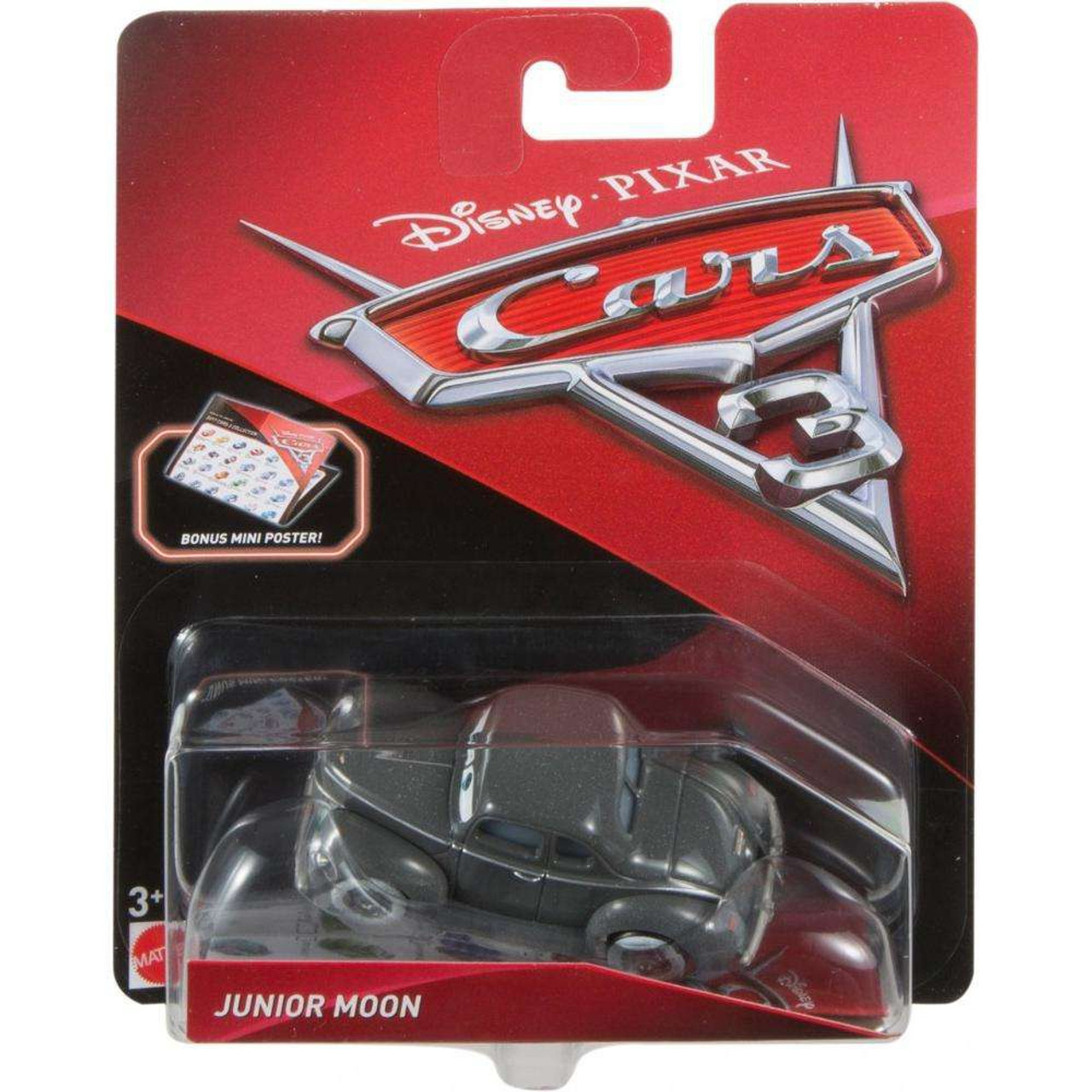 disney pixar cars cars 3 junior moon 155 diecast car mini poster