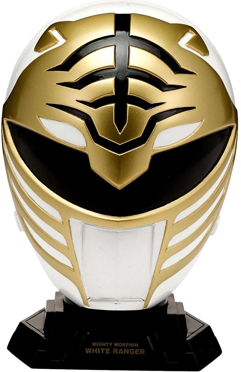 Power Rangers Mighty Morphin Legacy White Ranger 14 Helmet Quarter