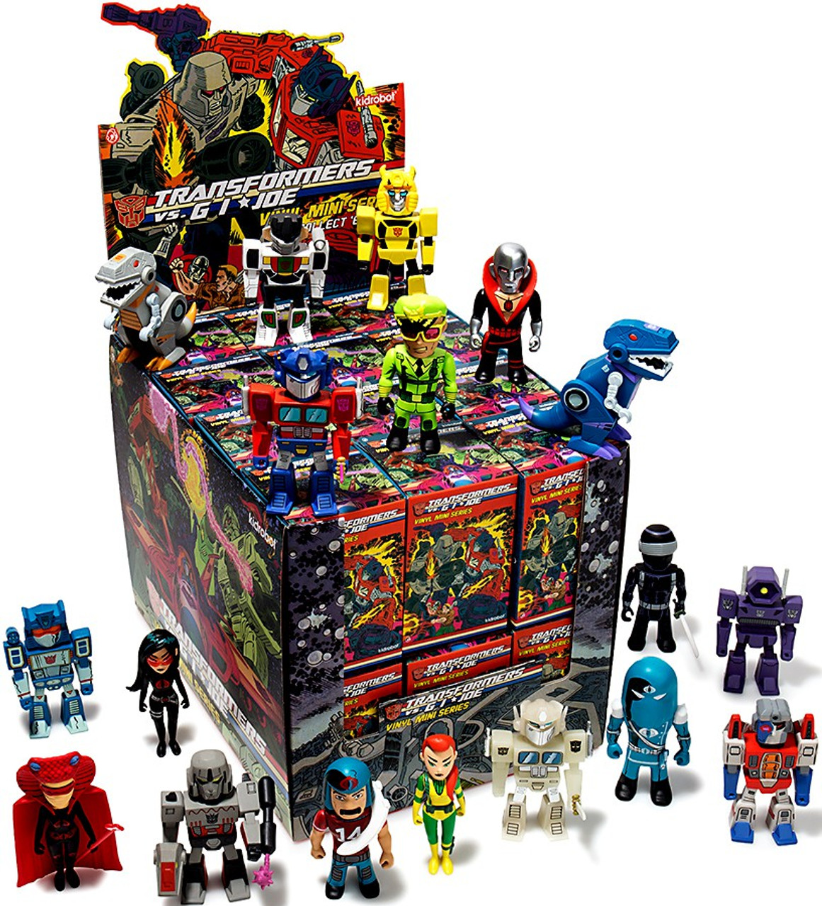 Transformers & GI Joe Vinyl Mini Series Mystery Box [24 Packs]