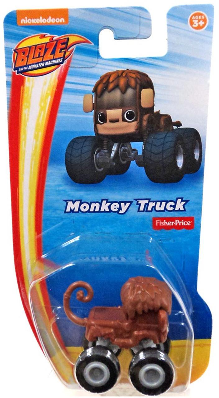 Fisher Price Blaze The Monster Machines Nickelodeon Monkey Vehicle