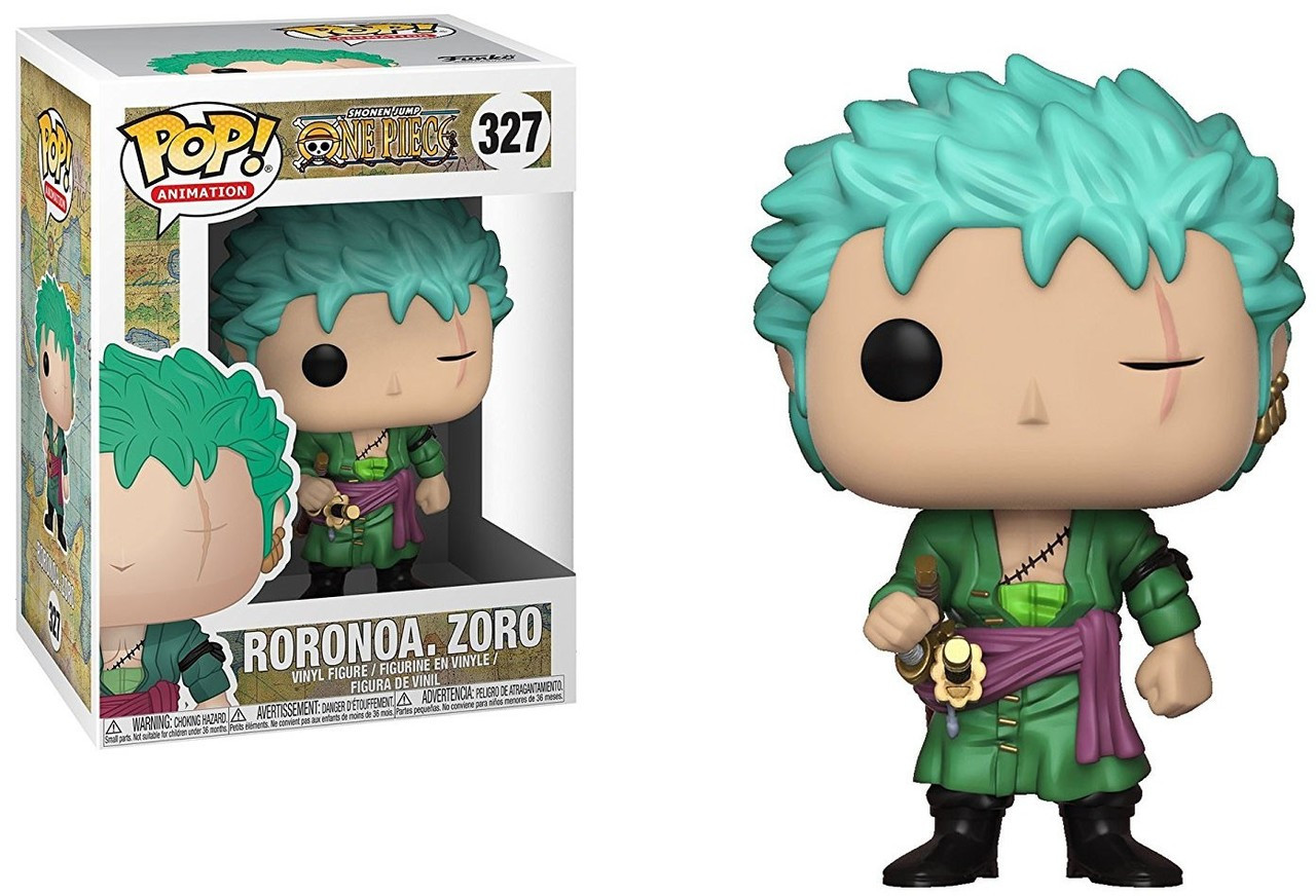 Funko One Piece Funko Pop Anime Roronoa Zoro Vinyl Figure
