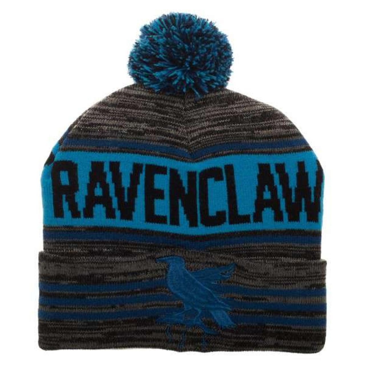 33d7235565f Harry Potter Harry Potter Ravenclaw Pom Knit Beanie Hat Bioworld - ToyWiz
