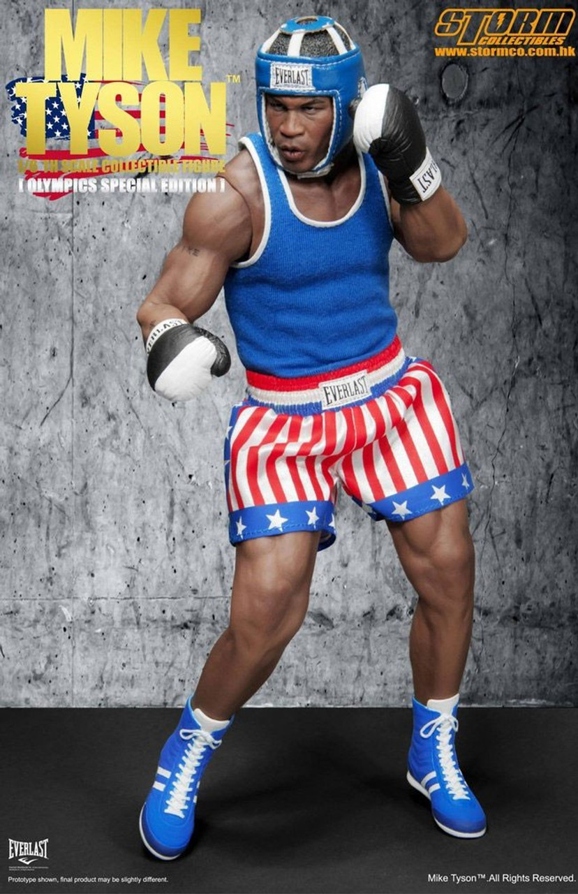 Mike Tyson Exclusive Action Figure [Olympic Edition]