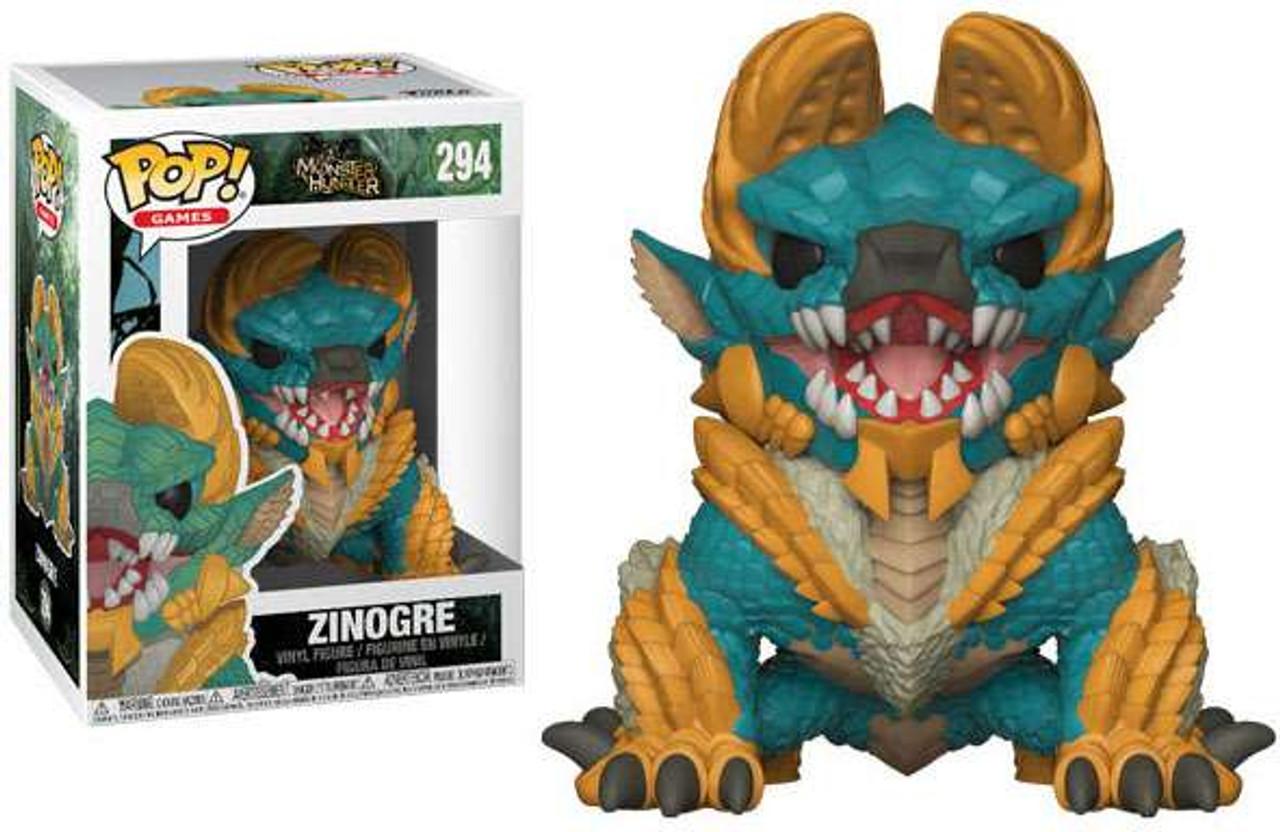 Funko Monster Hunter Funko Pop Video Games Zinogre Vinyl