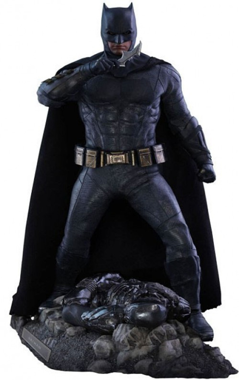 DC Justice League Movie Batman Collectible Figure [Deluxe Version] (Pre-Order ships October)