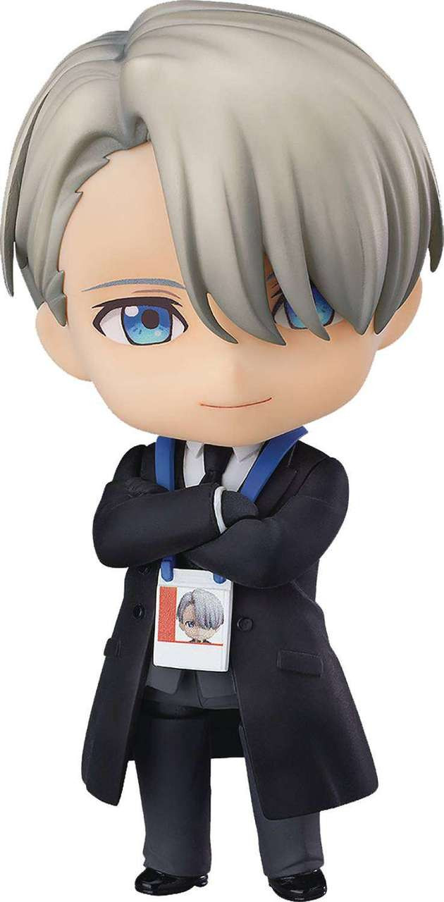 Yuri on Ice Nendoroid Victor Nikiforov Action Figure [Coach Outfit] (Pre-Order ships July)