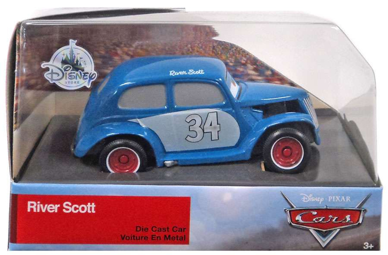 Disney Pixar Cars Cars 3 River Scott Exclusive 143 Diecast Car