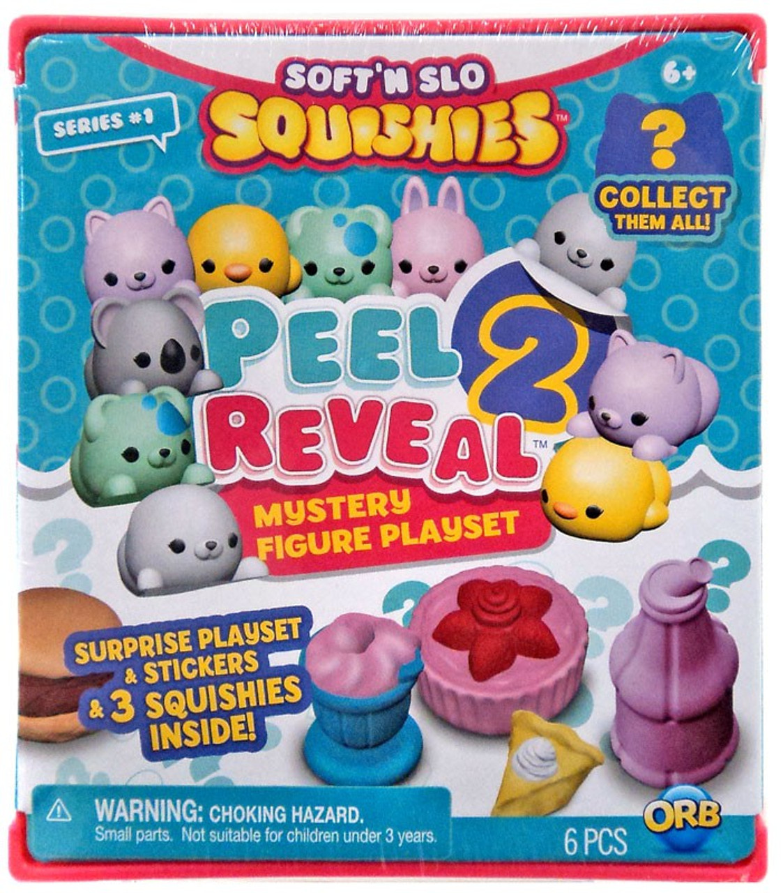softn slow squishies series 1 peel 2 reveal mystery pack orb toywiz
