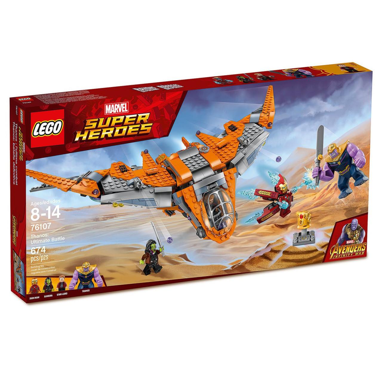 Lego Marvel Super Heroes Avengers Infinity War Thanos