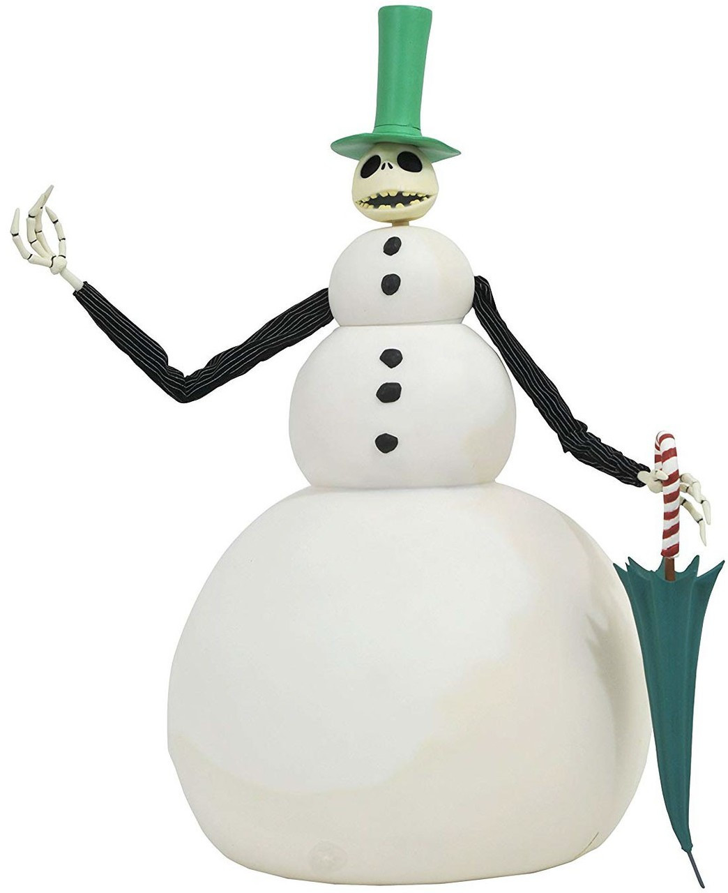 Nightmare Before Christmas Jack Snowman 16 Deluxe Cloth Doll Diamond ...