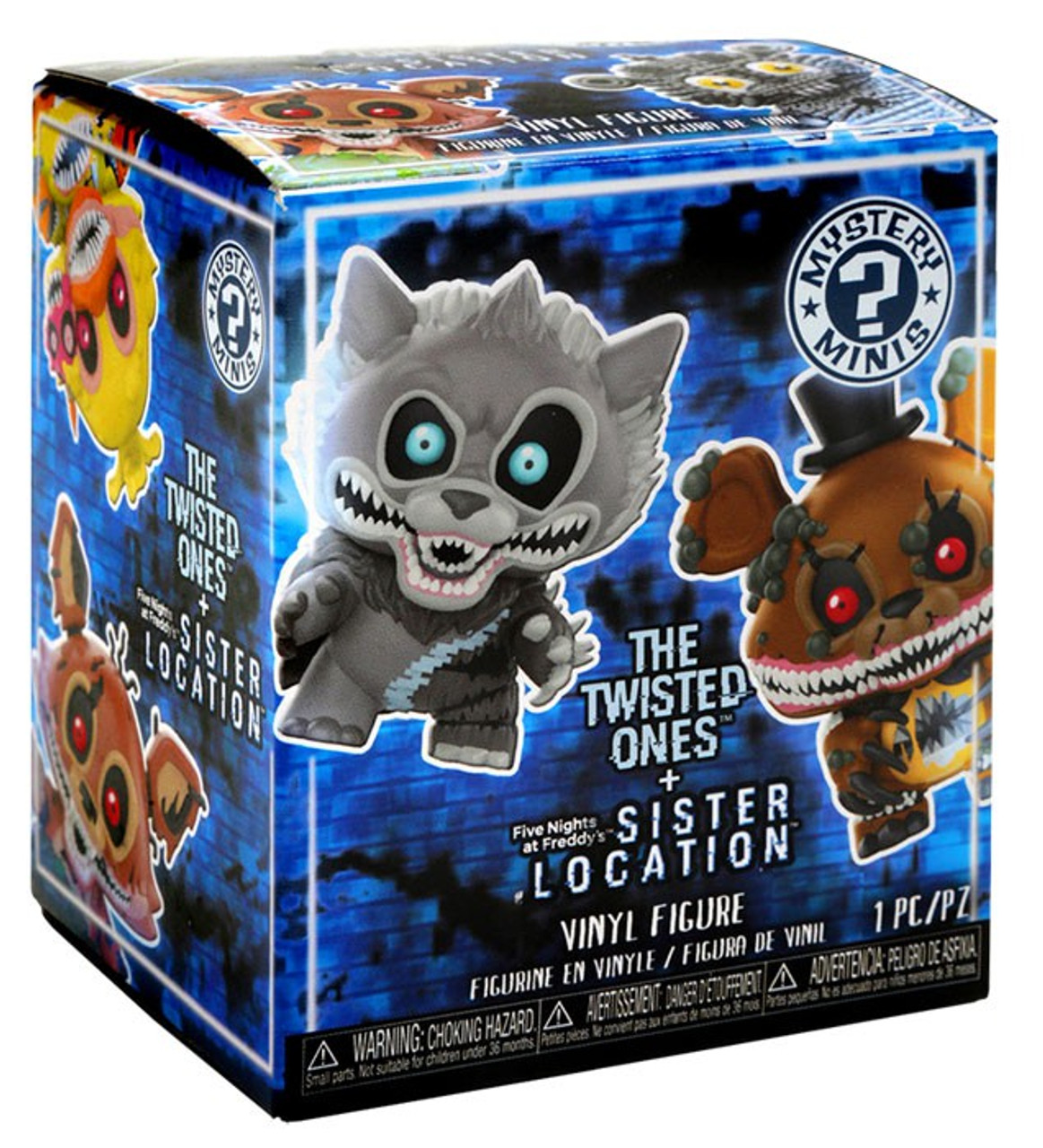 Funko five nights at freddys mystery minis five nights at freddys funko mystery minis five nights at freddys twisted mystery pack pre order ships march voltagebd Choice Image