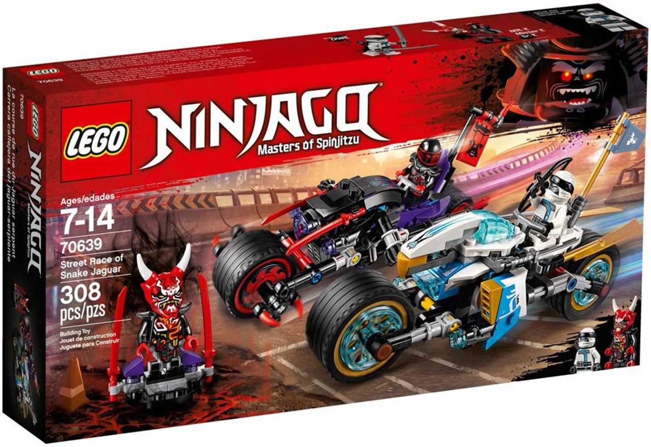 LEGO Ninjago Street Race of Snake Jaguar Set 70639 - ToyWiz