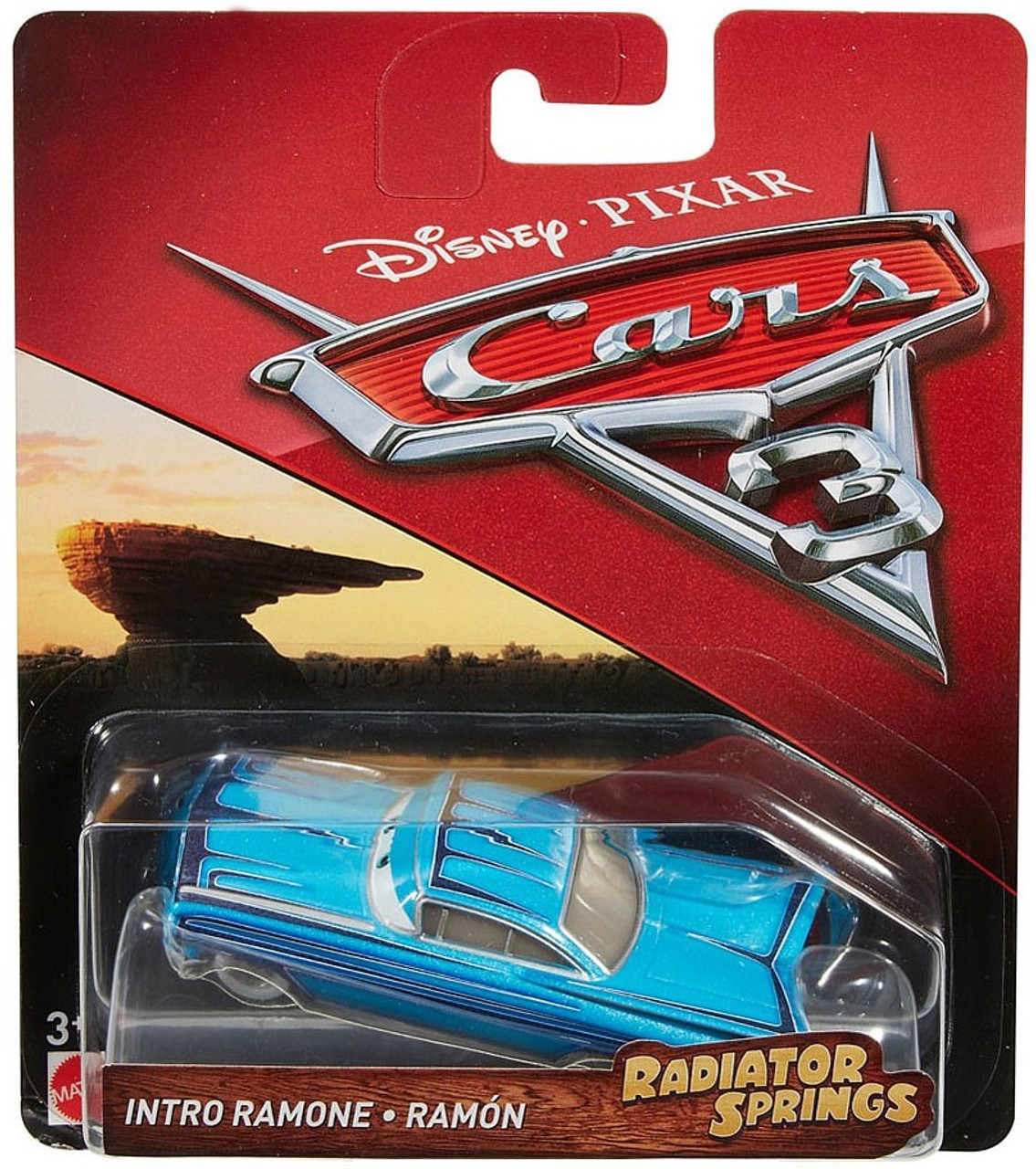 Disney Pixar Cars 3 Radiator Springs Classic Intro Ramone 155