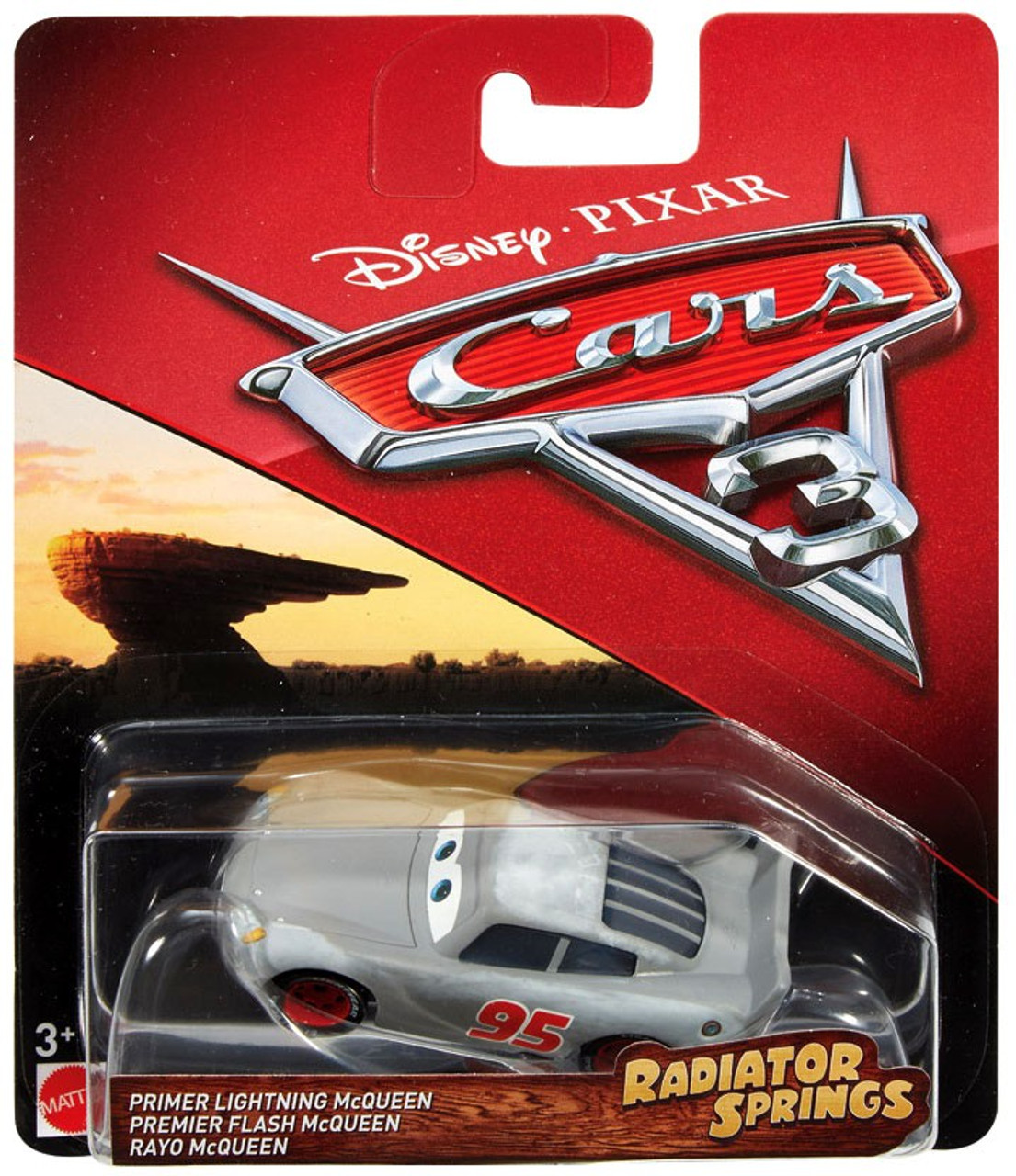 disney pixar cars 3 radiator springs classic primer lightning