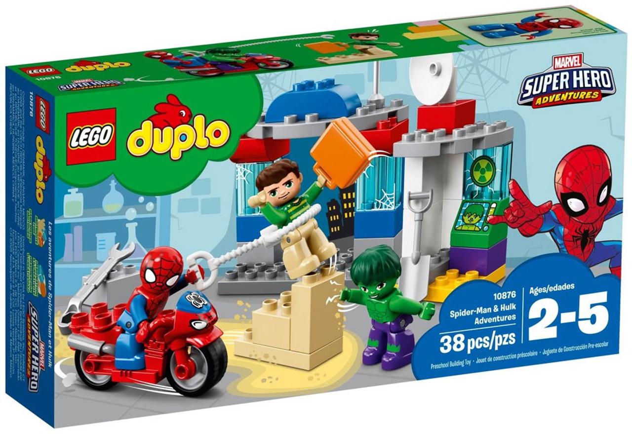 LEGO Duplo Marvel Super Hero Adventures Spider-Man Hulk Adventures ...
