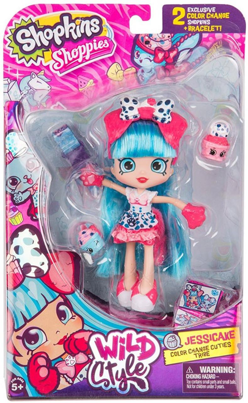 Shopkins Shoppies Season 9 Wild Style Jessicake Doll ...