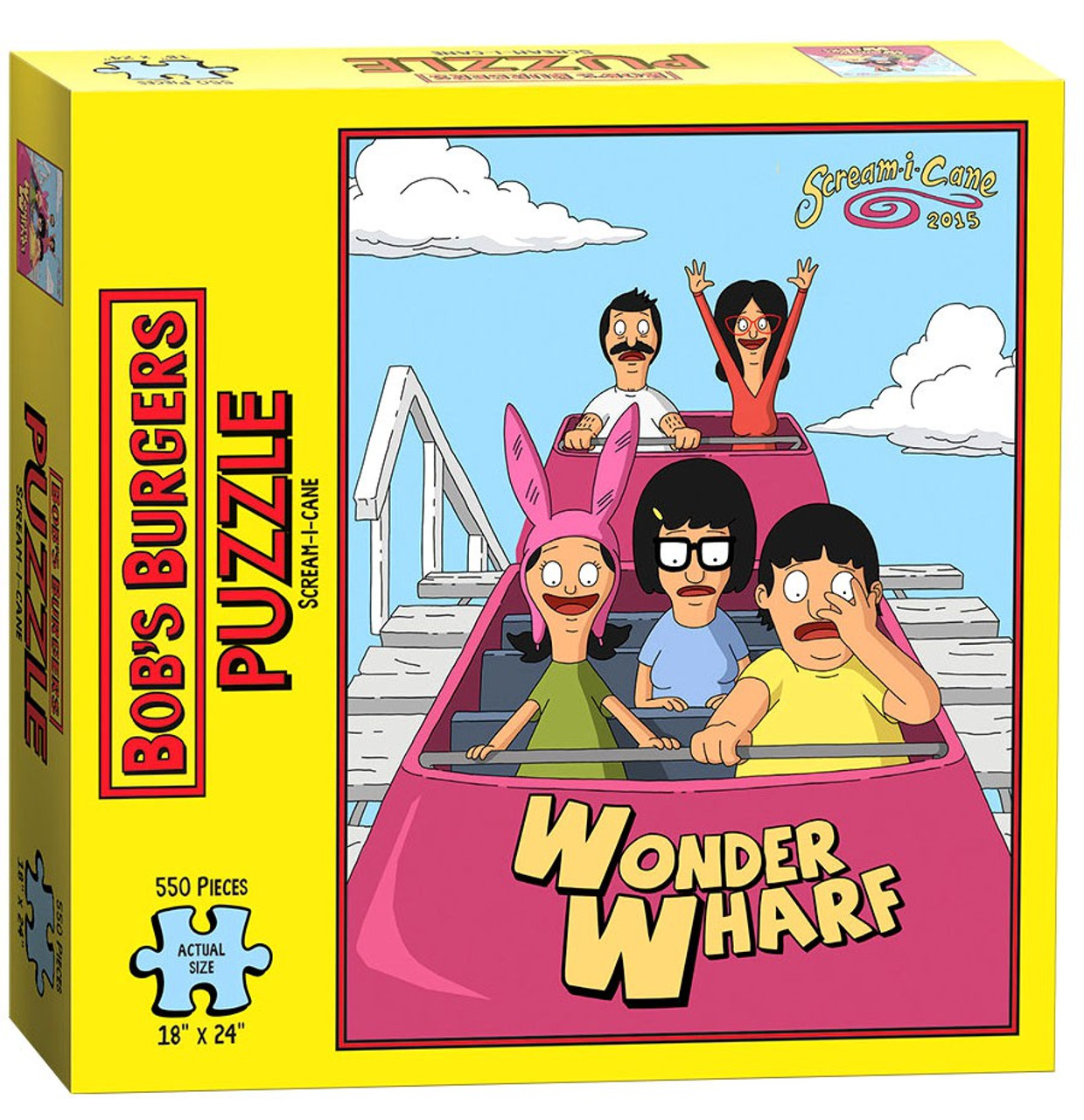Bob's Burgers Scream-I-Cane 500 Piece Puzzle