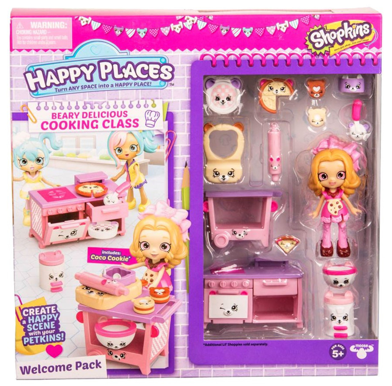 Shopkins Happy Places Beary Delicious Cooking Class