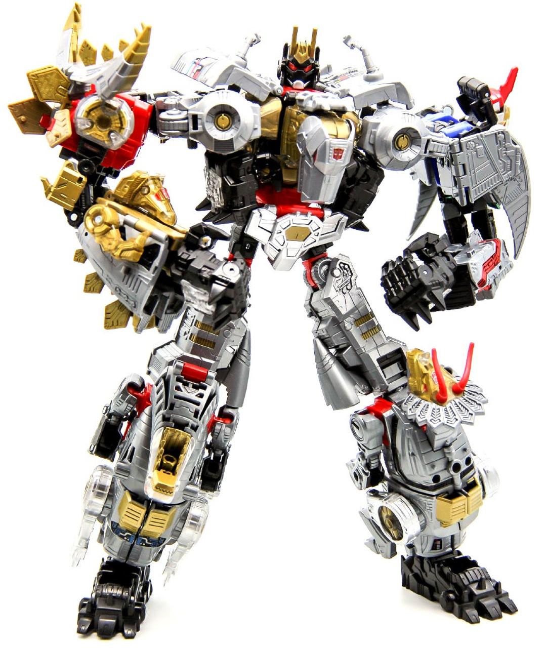 Transformers Generations Power of the Primes Volcanicus Action Figure [Grimlock, Sludge, Snarl, Swoop, Slug & Slash]