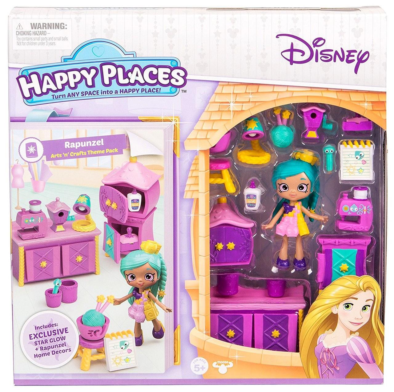 Disney Happy Places Rapunzel Arts Crafts Miniature Moose ...