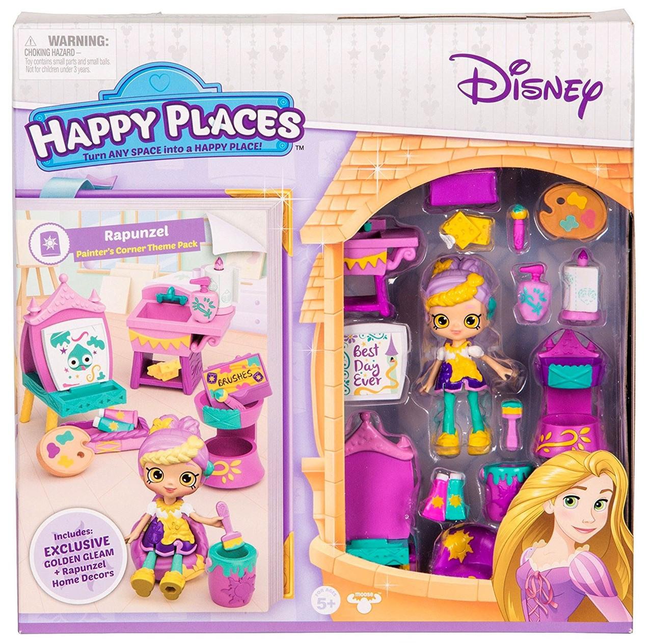Disney Happy Places Rapunzel Painters Corner Theme Pack ...