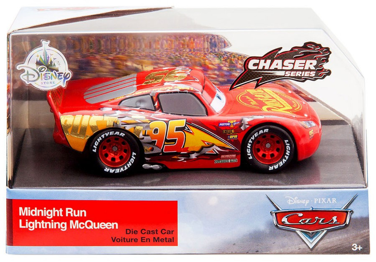 Disney Pixar Cars Cars 3 Chaser Series Midnight Run Lightning