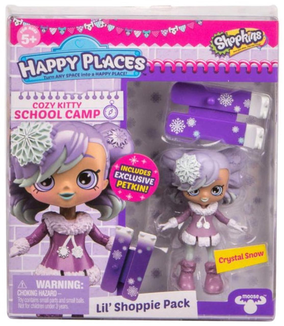 Shopkins Happy Places Season 4 Crystal Snow Lil Shoppie