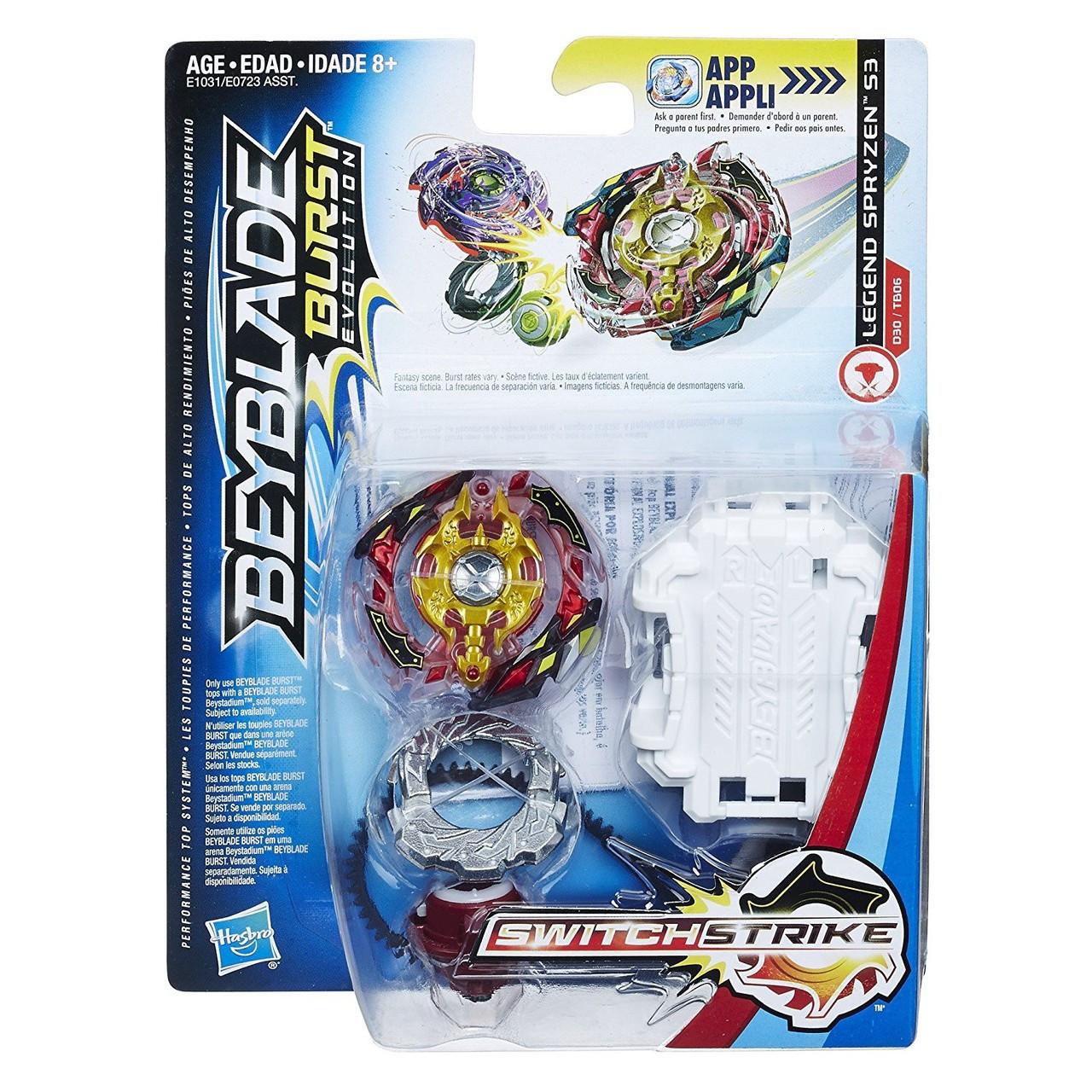 Switch It Up Toys : Beyblade burst switchstrike legend spryzen s starter pack