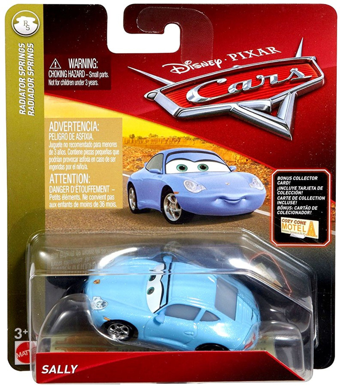 Disney Pixar Cars Cars 3 Radiator Springs Sally 155 Diecast Car